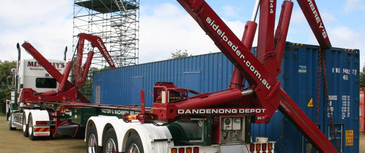 container sideloader